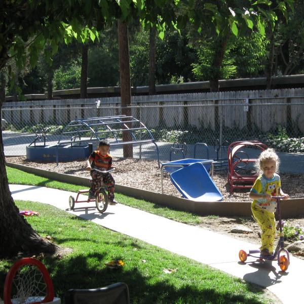 Childcare Modesto CA | Outside Play Time